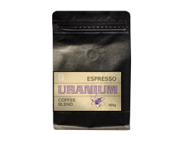 Espresso blend URANIUM coffee, strong 500g