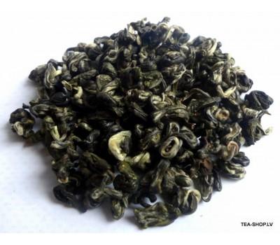 Guanksi Pi Luo Čuns (zaļais gliemezis) ķīnas zaļā tēja