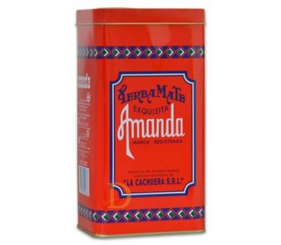 AMANDA Traditional Yerba Mate tin can 500gr