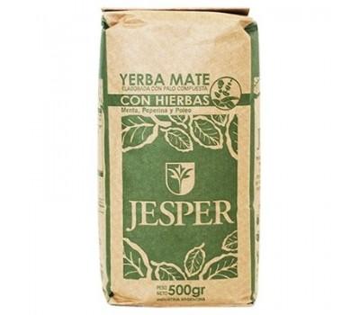 JESPER con Hierbas farm yerba mate 500g