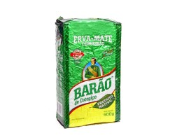 Barão De Cotegipe Native chimarrão yerba mate 500g - Vacuum Packed