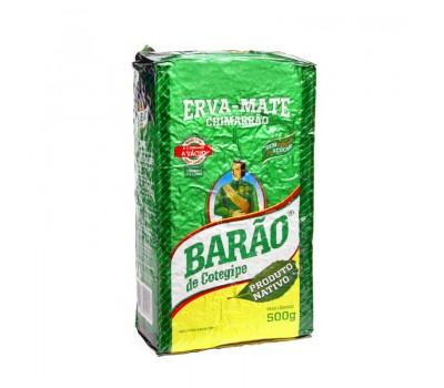 Barão De Cotegipe Native chimarrão yerba mate 500g - Vacuum Packed