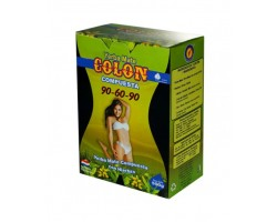 Colon 90-60-90 yerba mate 500g