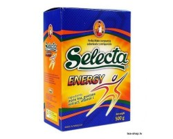 Selecta Energy Yerba Mate with Guarana 500g