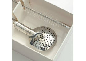 Bombilla craft Chimarao with cleaning brush 21cm