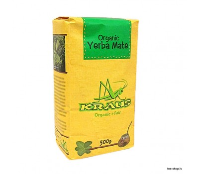 KRAUS Organic+Fair Yerba Mate  500g