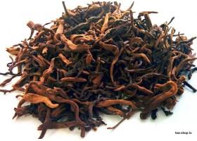 Golden Yunnan loose shu ripe puerh