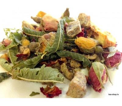 """GRAPEFRUIT-ROSE-GUARANA"" tea blend"