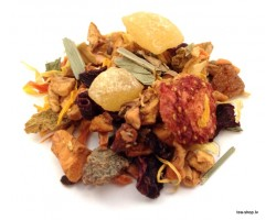 ''BAMBOO - PEACHES - WILD BERRIES''  tea mix