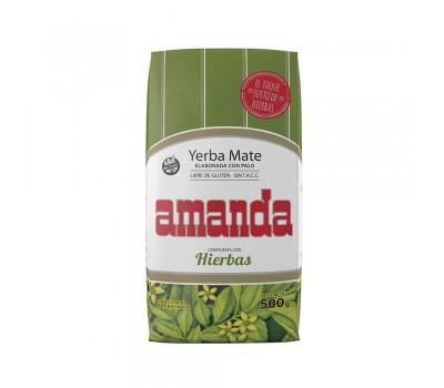 Мате Amanda Compuesta Con Hierbas 500g